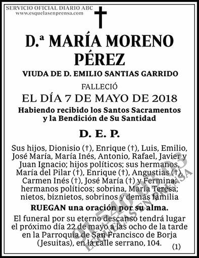 María Moreno Pérez